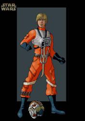 luke skywalker 4 by nightwing1975