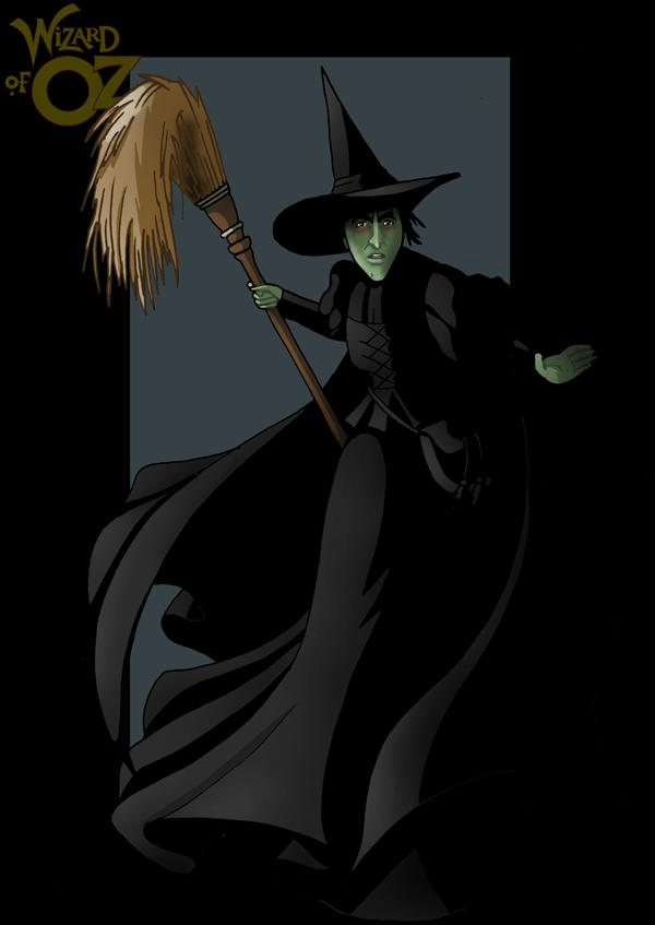 Wicked Witch of the West in AM by justin-mctwisp on DeviantArt