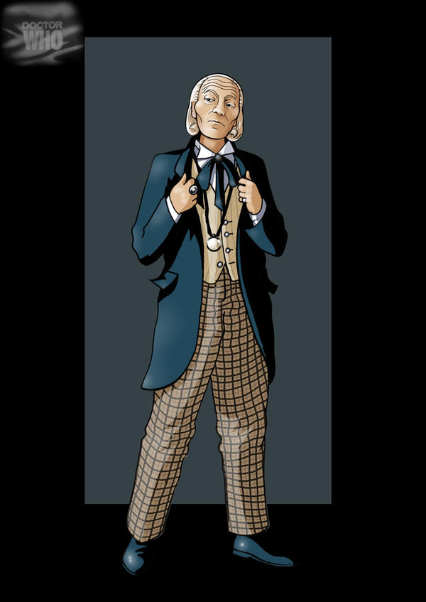 1st doctor by nightwing1975