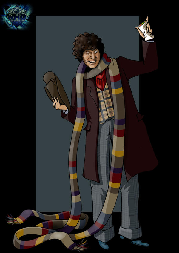 4th doctor by nightwing1975