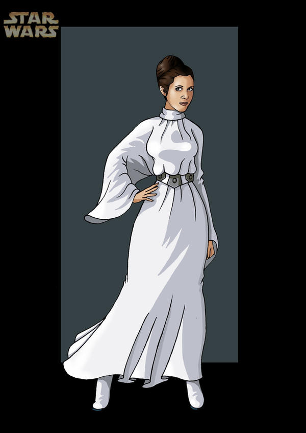 princess leia 6 by nightwing1975