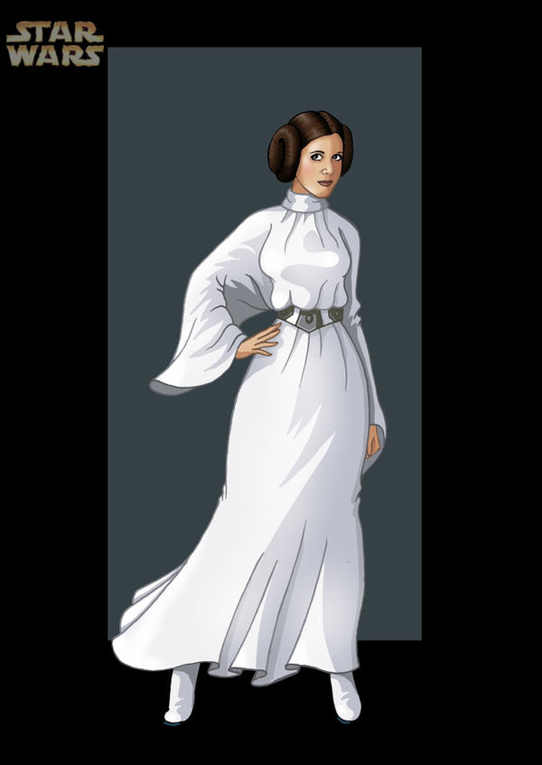 princess leia 1 by nightwing1975