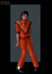 michael jackson by nightwing1975