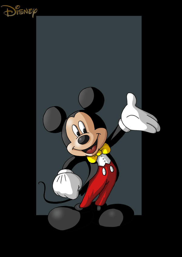 mickey mouse by nightwing1975