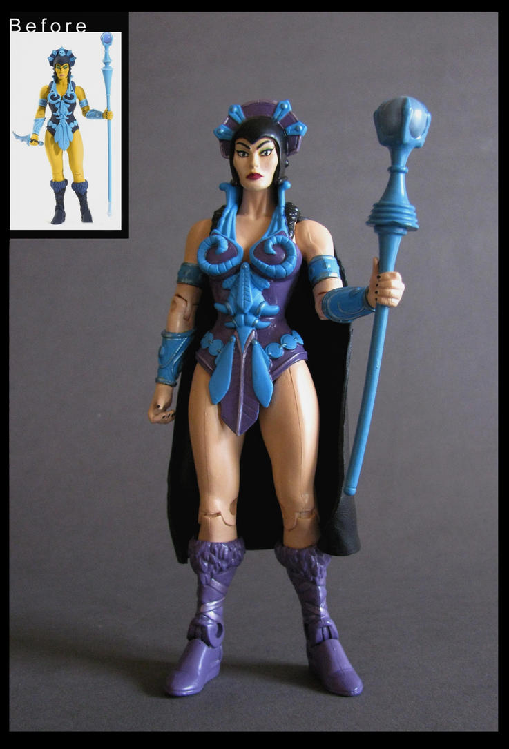 evil lyn filmation -commission by nightwing1975