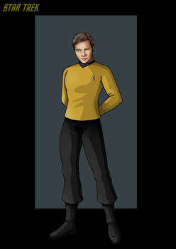 captain james tiberius kirk.