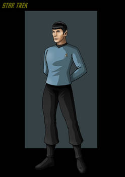 commander spock.