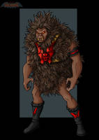 grizzlor figure by nightwing1975