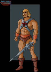 filmation He-Man - commission