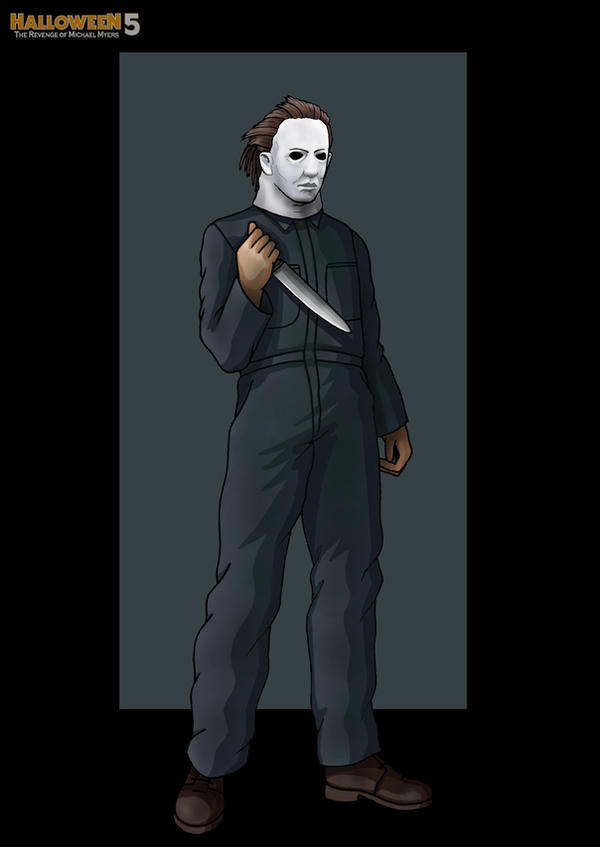 h5 michael myers -  commission by nightwing1975