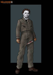 h6 michael myers -  commission by nightwing1975