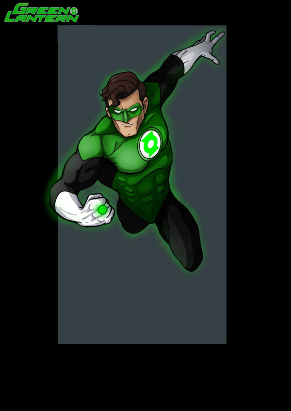green lantern  -  commission by nightwing1975