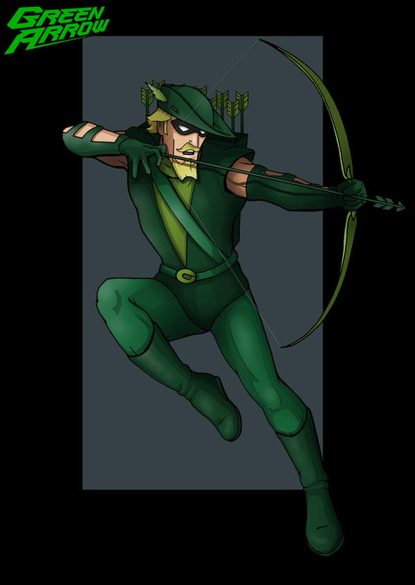 green arrow  -  commission by nightwing1975