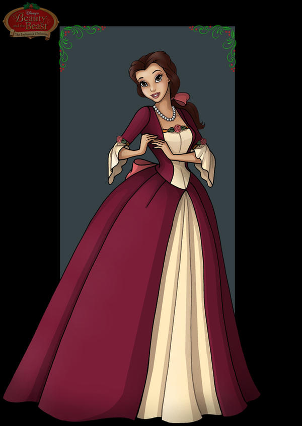 belle enchanted christmas by nightwing1975
