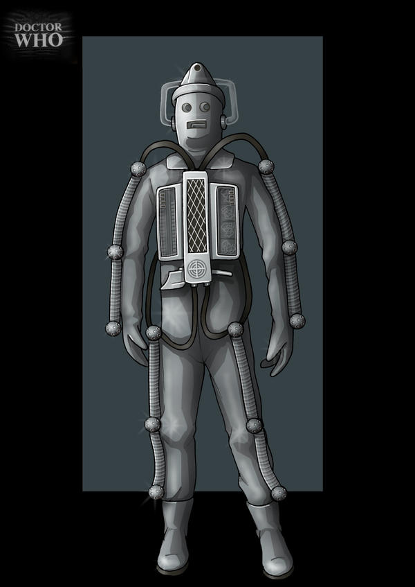 moonbase cyberman  -  commission by nightwing1975