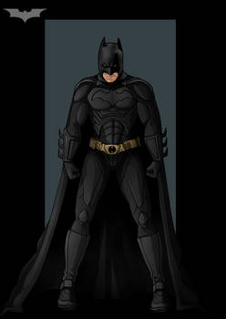 the dark knight  -  commission