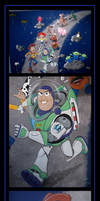 toy story mural  -  commission