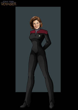 captain kathryn janeway by nightwing1975