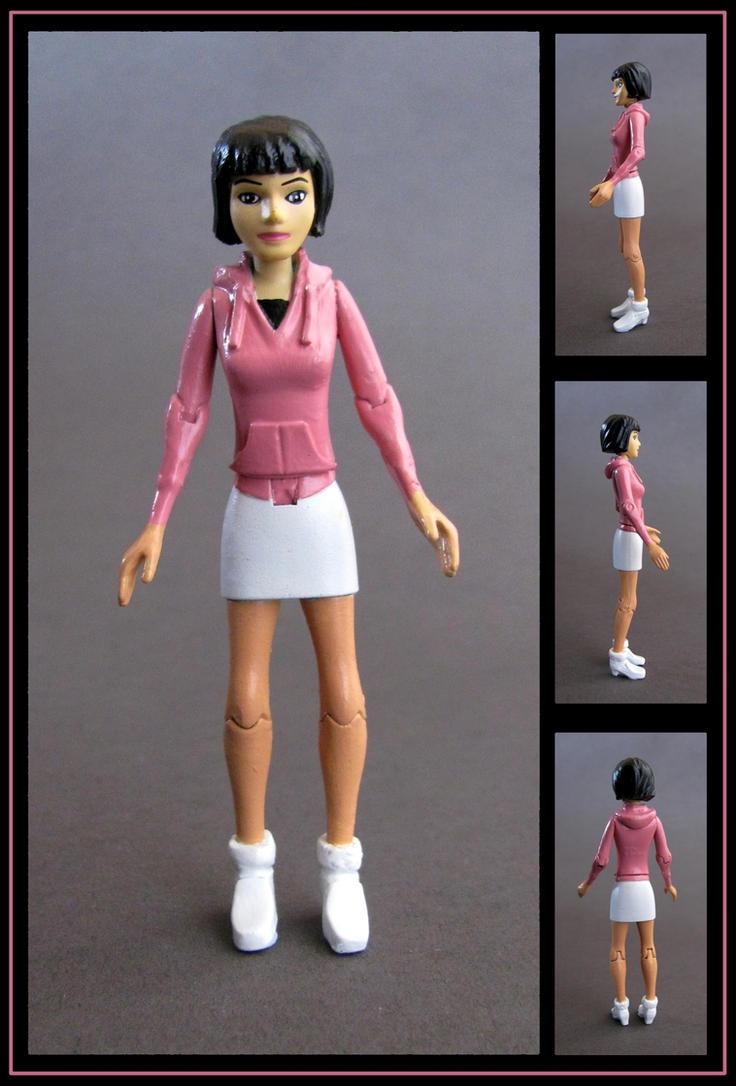Julie yamamoto custom Figure by nightwing1975