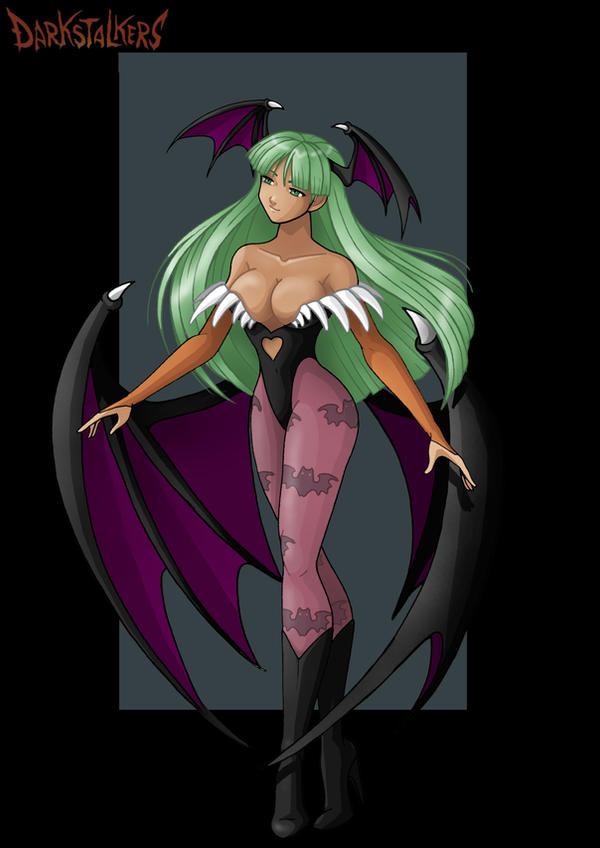 morrigan aensland  -  commission by nightwing1975