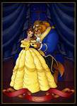 beauty and the beast  -  commission