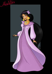 princess jasmine  -  the secret of dagger rock by nightwing1975