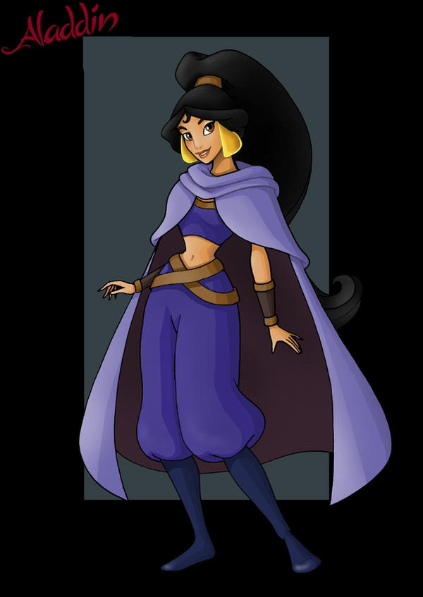 princess jasmine  -  the wind jackals of mozenrath by nightwing1975