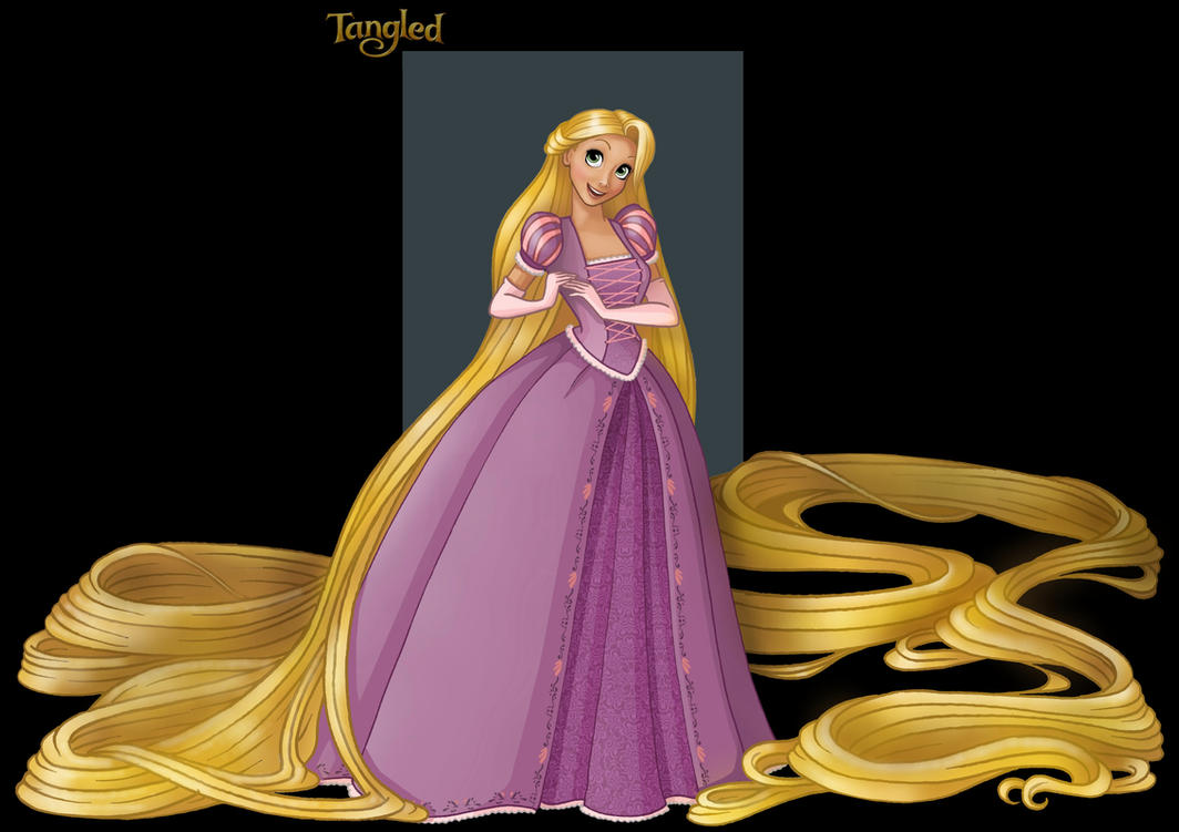 rapunzel by nightwing1975
