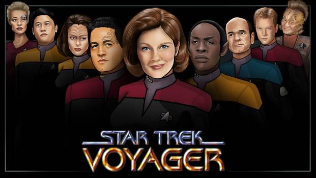 main crew - voyager