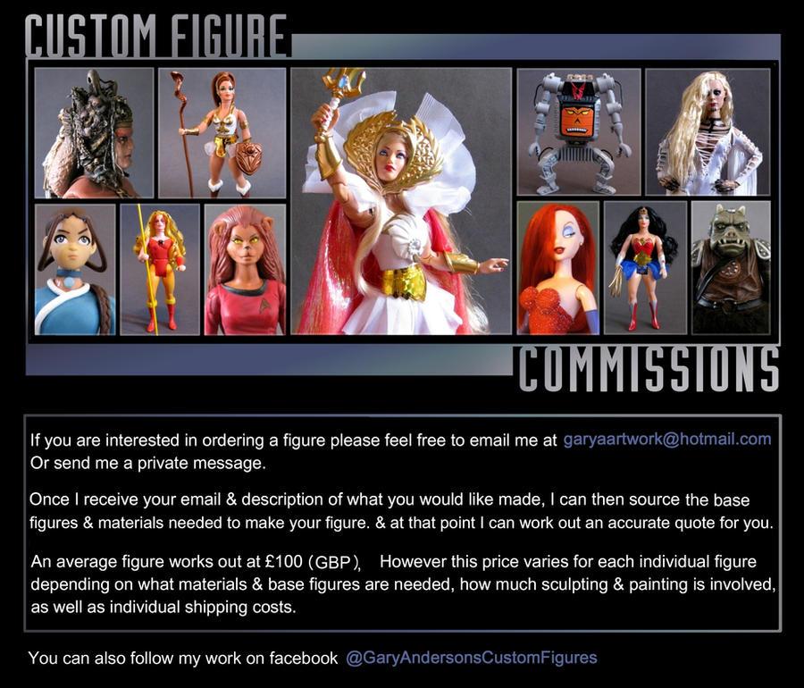 custom figure commissions