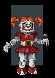 circus baby by nightwing1975
