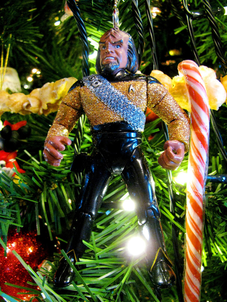 worf christmas decoration by nightwing1975