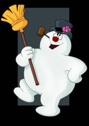 frosty the snowman by nightwing1975