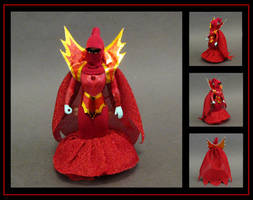 shadow weaver (with fabric hood) custom figure by nightwing1975