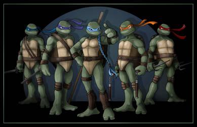 Five Turtles Group shot