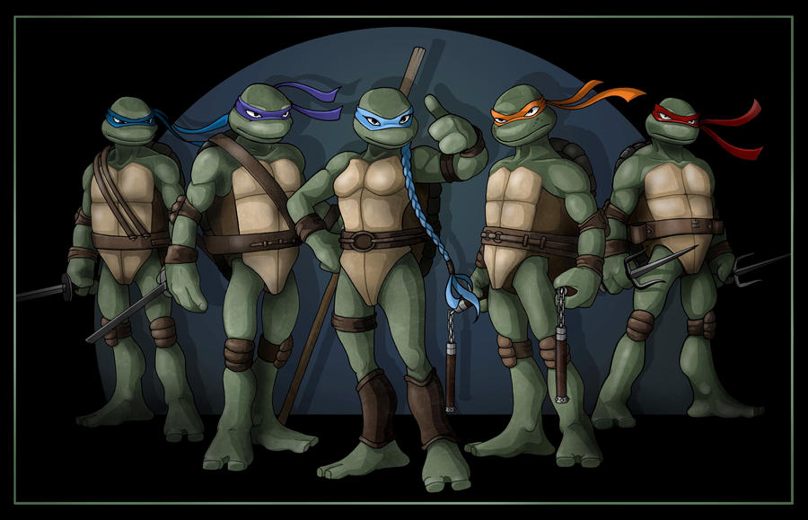Five Turtles Group shot
