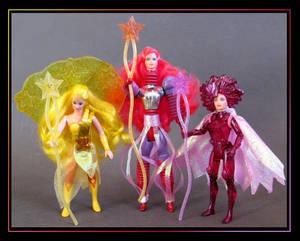 the star sisters (custom figures)