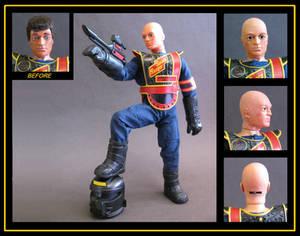 Action Man Space Ranger (bald) custom figure