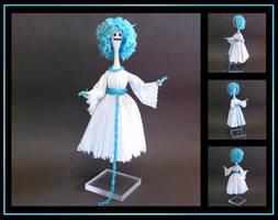 Mrs. Ghost custom doll by nightwing1975