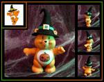 Halloween Care Bear (custom figure) Yours to own!!
