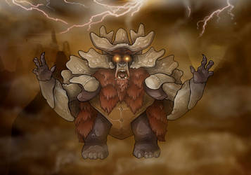 Bendu illustration by nightwing1975