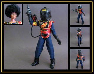 Christie Space Ranger Commando - custom figure by nightwing1975