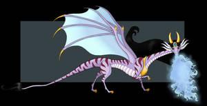 Princess Jasmine Dragon (side view)