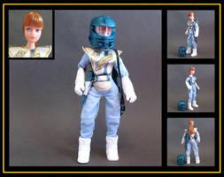Action Girl Space Ranger (custom doll)