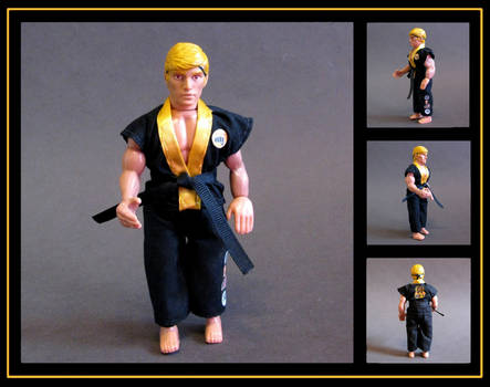 johnny lawrence (karate kid) custom figure