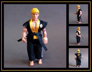 johnny lawrence (karate kid) custom figure