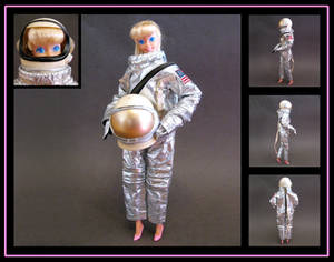 Barbie (TS3 astronaut disguise) custom doll