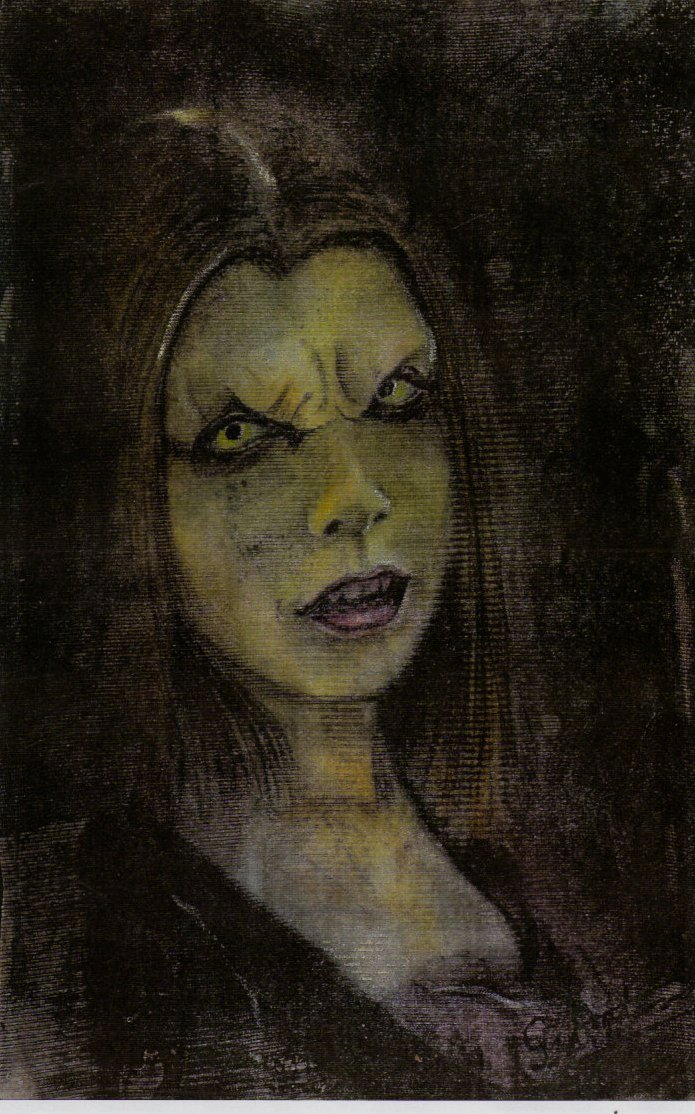 willow as a vampire by nightwing1975