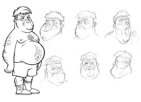 Character Design - Pi Ediciones 1