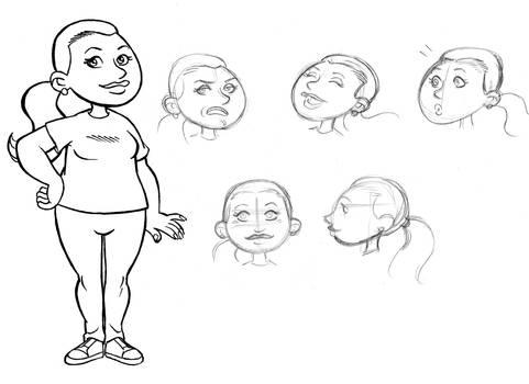Character Design - Pi Ediciones 3